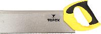 Ножовка по дереву пасовочная, 350 мм, 13TPI, 10A706 Topex, фото 1
