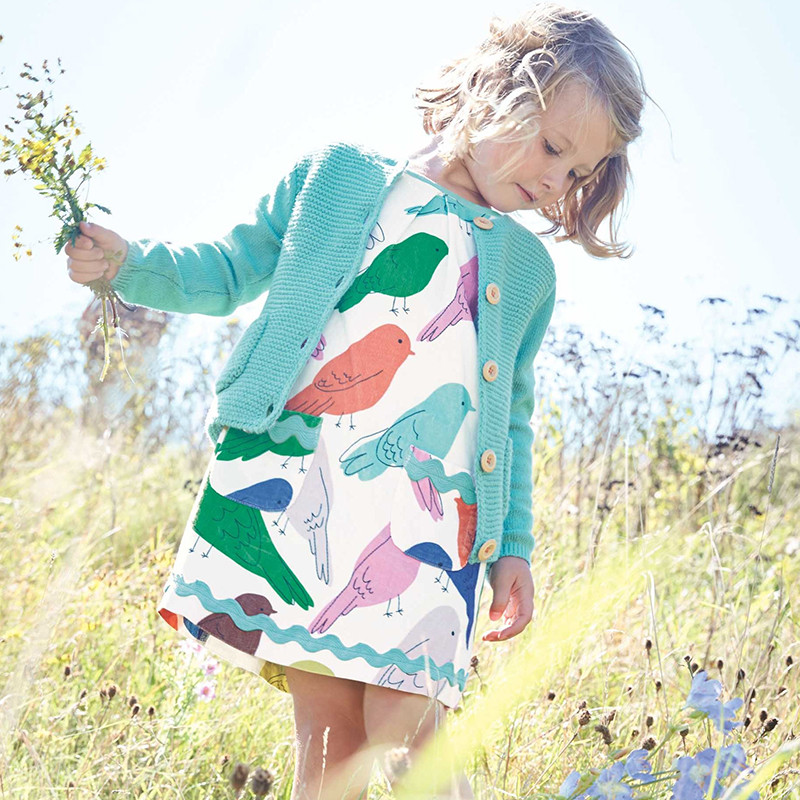 Платье для девочки Птички Little Maven (7 лет)