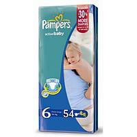 Подгузники Pampers active baby 6 (15+ кг) 54 шт памперс актив беби драй