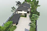 3D визуализация ландшафтного дизайна