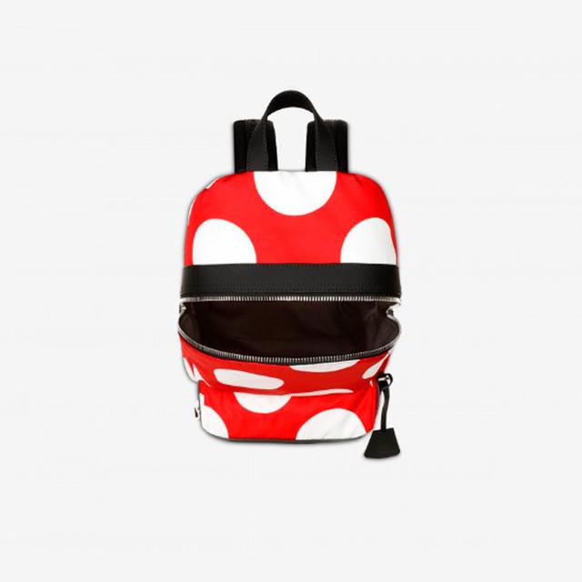 Нейлоновый рюкзак в горошек от Moschino | основное отделение