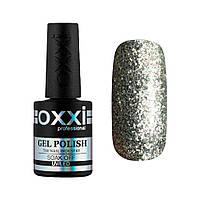 Гель-лак № 095(насыщенные серебристые блестки) 10 мл Oxxi