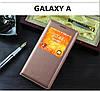 """Samsung A7 A700 GALAXY фирменный перфорированный чехол книжка S VIEW COVER для телефона """"S SMART"""", фото 7"""