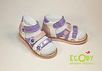 Босоножки для девочек Ecoby 018V кожаные р.20 - 32