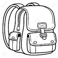 Бирка кожаная для рюкзаков