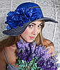 Летняя женская шляпа «Лента веер»