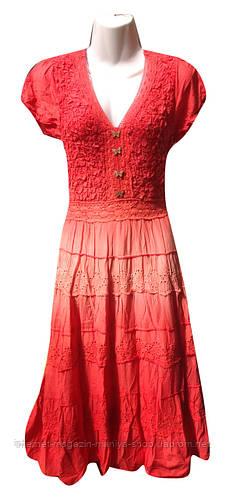 Платье женское батальное