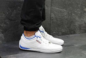 47a8b53d9deca2 Кроссовки мужские белые с синим Puma Bmw Motorsport 5779 купить в ...