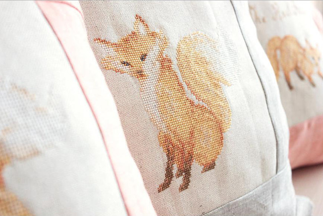 Наборы подушек « Pillow Cross Stitch Kit»