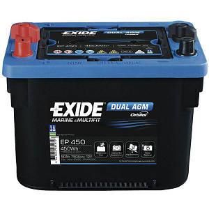 Аккумулятор Exide Dual AGM 50 АЧ, код: EP450