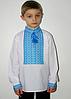 Тканая рубашка на мальчика 0115