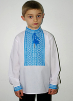 Тканая рубашка на мальчика 0115, фото 1