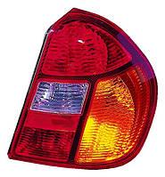 Фонарь задний правый Renault Symbol I (1 рестайлинг) 2002 - 2006 красно-желтый, с патронами, (Depo, 551-1932R-UE) OE 087680 - шт.
