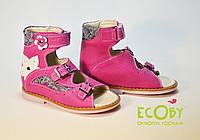 Босоножки ортопедические Ecoby кожаные, фото 1