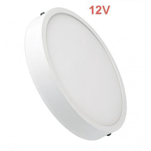 Світлодіодний світильник накладної Slim SL-461 6W 12V 4000K круглий білий IP20 Код.59465