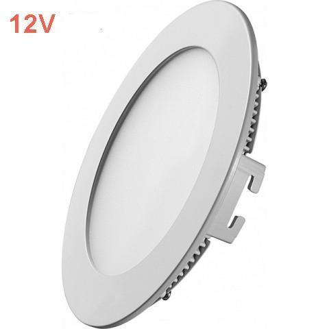 Світлодіодна врізна панель SL 443R 6W 12V 4000K круглий білий IP20 Код.59471