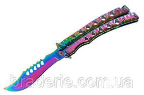 Нож бабочка 08
