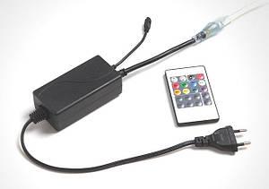 Контролер для LED RGBWYP SL16/7 стрічки 220V 4Pin mini ІК пульт Код.59509