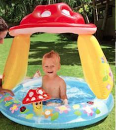 Надувные детские басейны
