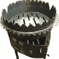 Печь под казан+мангал т.2мм г.к. 350мм*450мм