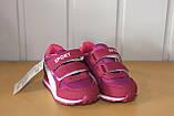 Кросівки на дівчинку 22 р рожеві арт 123-1., фото 2