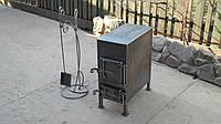 Печь дровяная с комплектом для чистки / ручная работа