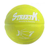 "Баскетбольный мяч ""StreetK"" (жёлтый) BT-BTB-0023"
