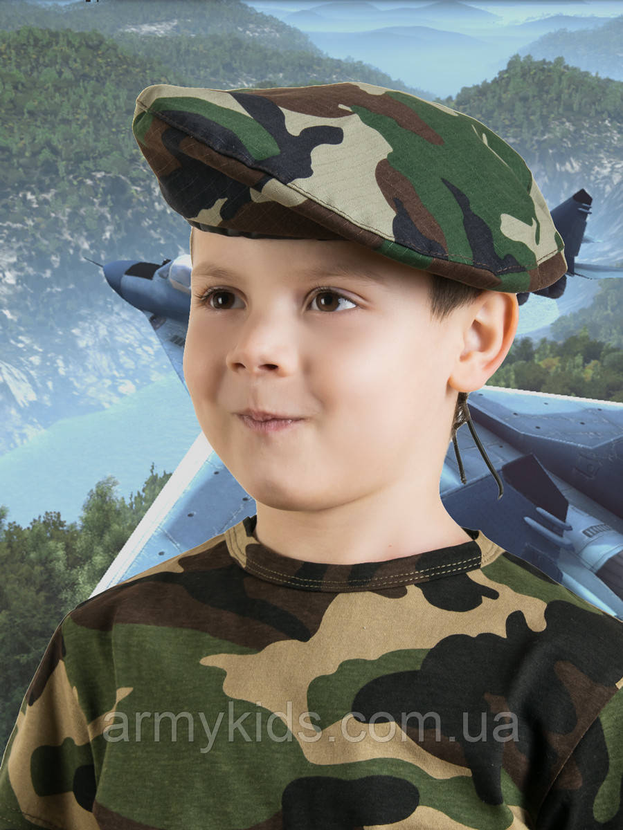 Берет камуфляж НАТО лето универсальный