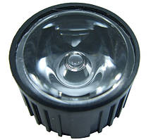 Лінза HX-20-20 чорний корпус 20 градусів для світлодіодів standard emitter 1-3W 2563