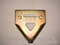 H207929 сегмент ножа жатки /уп.25шт/ мелк.зуб (420.100.085;420100085;10961L36)