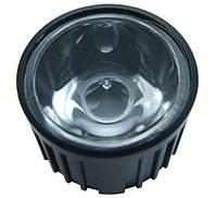 Коліматор-лінза HX-20-5 5 градусів для світлодіодів standard emitter 1-3Вт чорний корпус 2562