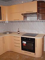 Кухня с радиусными фасадами, фото 1