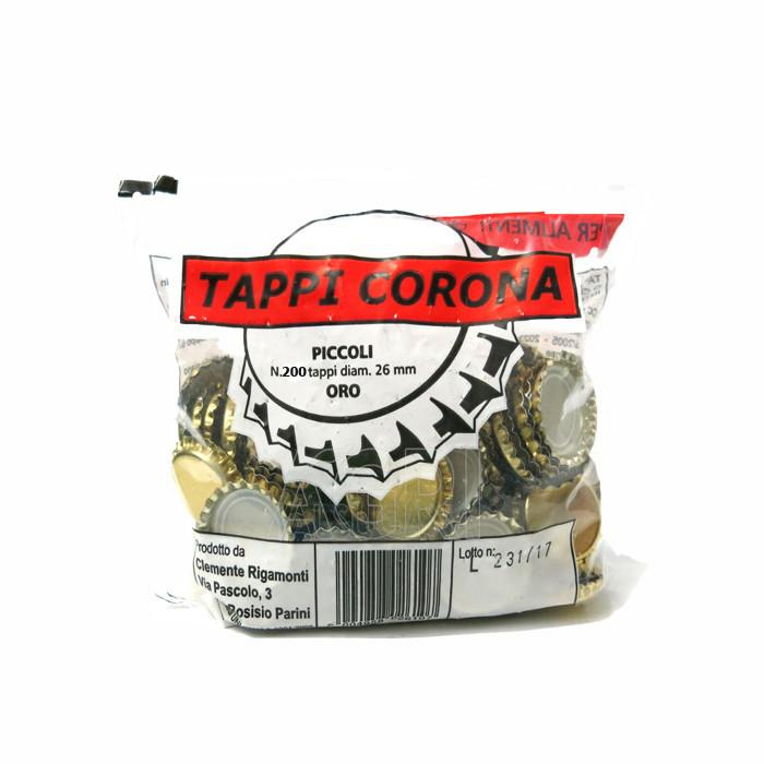 Кроненпробки Tappi Corona 29мм (200шт.) Италия