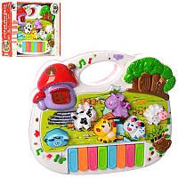 Дитяче піаніно іграшкове Енотка CY-6073B,рос.мова,музичне піаніно