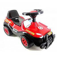 Машинка для катания ДЖИПИК, красно-черная 105_Ч