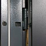 """Двери REDFORT """"Сити"""" в серой уличной пленке """"Антрацит"""", фото 2"""
