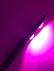 Світлодіодний консольний фитосветильник SL-100 Lens 100W IP65 (full fito spectrum led) Код.59044