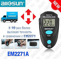 Толщиномер ЛКП краски автомобиля (Товщиномір) ALLOSUN ALL-SUN EM2271A  с калибровочными пластинами