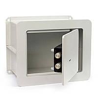 Встраиваемый сейф ВСБ-2518.К мебельный, офисный для дома в стену Ferocon 25х30х18 см.
