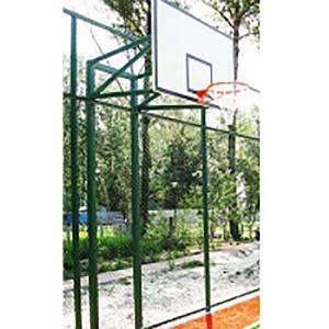 Стойка баскетбольная PlaySport (под щит 1800х1050 мм. вынос 450-600 мм.), код: SS00084