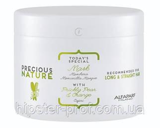 Маска для длинных и прямых волос Alfaparf Milano Precious Nature Long & Srtaight Hair Mask 500 ml