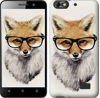 Чехол EndorPhone на Huawei Honor 4C Лис в очках 2707c-183-19016 (hub_YpiS62501)