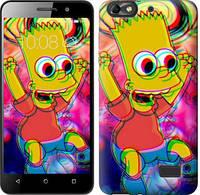 Чехол EndorPhone на Huawei Honor 4C Crazy simpson 4126c-183-19016 (hub_cpym43246)
