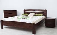 Кровать из бука Нова без изножья деревянная, фото 1