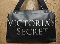 22450b424114 Сумка женская черная, женская сумка, сумка из кожзама, сумка victoria's  secret копия