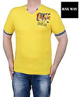 Футболка мужская большого размера.Яркие мужские футболки.