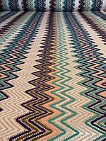 Ткань макраме цветные волны, фото 1