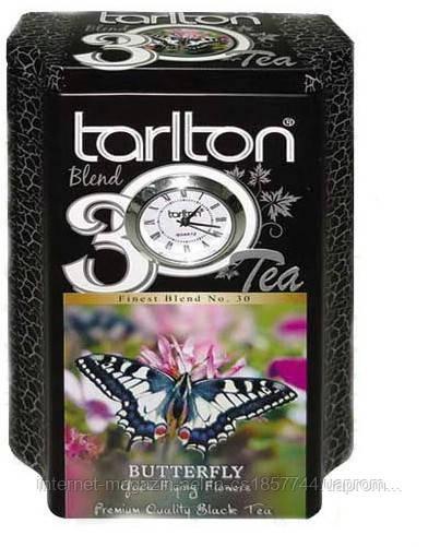 """Чорний чай Тарлтон """"Метелик"""" ж\б 200 гр"""