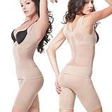 Корректирующее белье  Fir Slim - утягивающие шорты + майка + пояс для похудения (размер ХL), фото 4