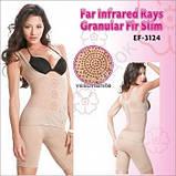 Корректирующее белье  Fir Slim - утягивающие шорты + майка + пояс для похудения (размер ХL), фото 3